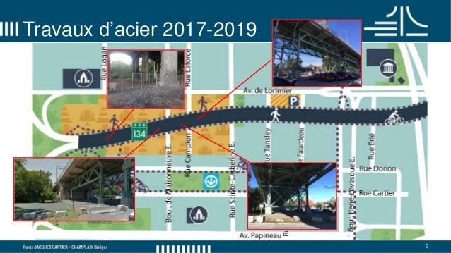 Comité de bon voisinage - pont Jacques-Cartier - 6 février 2018 Slide 3