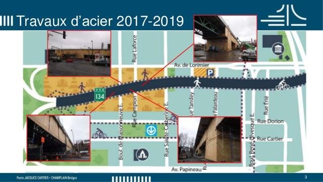 Comité de bon voisinage du pont Jacques-Cartier - 8 mai 2018 Slide 3