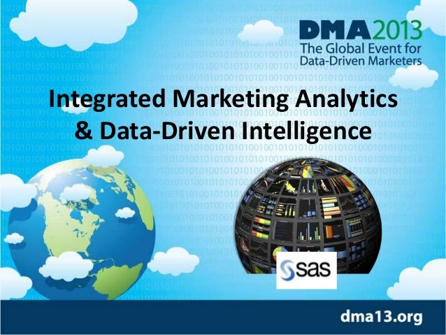 Integrated Marketing Analytics & Data-Driven Intelligence