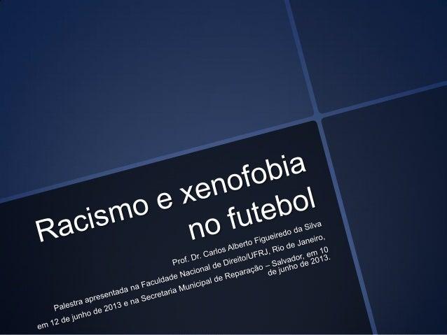 A linguagem racista no futebol brasileiro. In: Congresso Brasileiro de Históriado Esporte, Lazer e Educação Física, 1998, ...