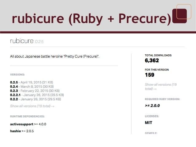 rubicure (Ruby + Precure)