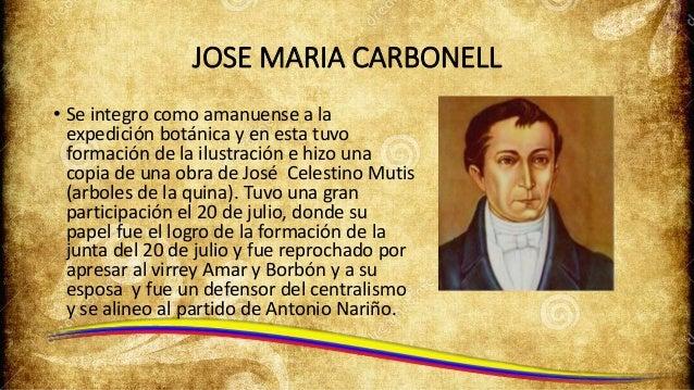 Resultado de imagen para Fotos de José María Carbonell