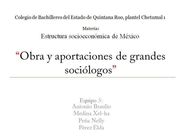 Colegio de Bachilleres del Estado de Quintana Roo, plantel Chetumal 1                               Materia           Estr...