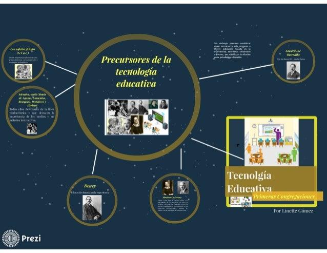 Precursores de la tecnologia educativa