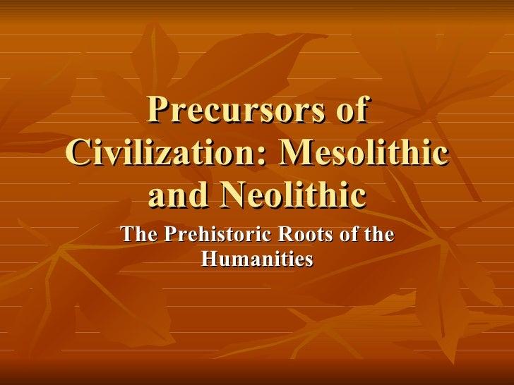 importance of civilization