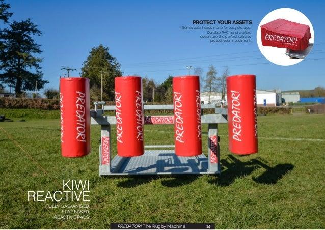Predator! Rugby training equipment & Scrum Machines 2019