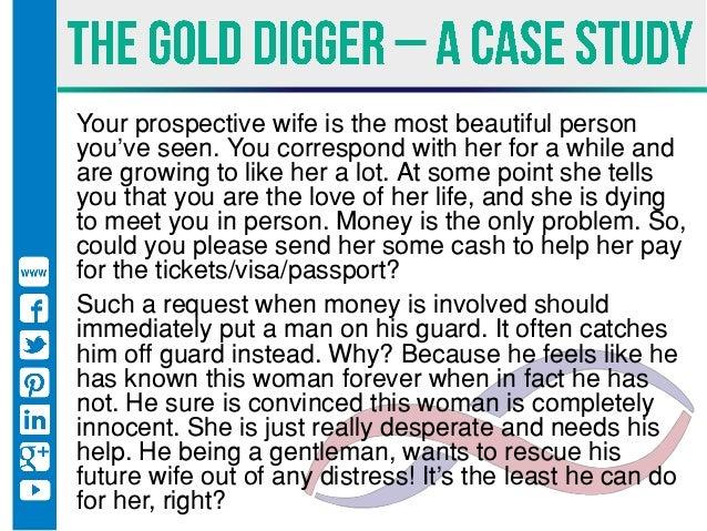 Gold digger characteristics