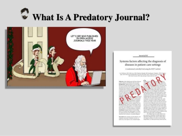 Predatory Journals