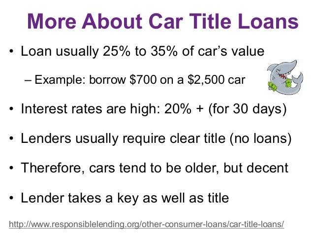 Car Title Loans For Older Cars