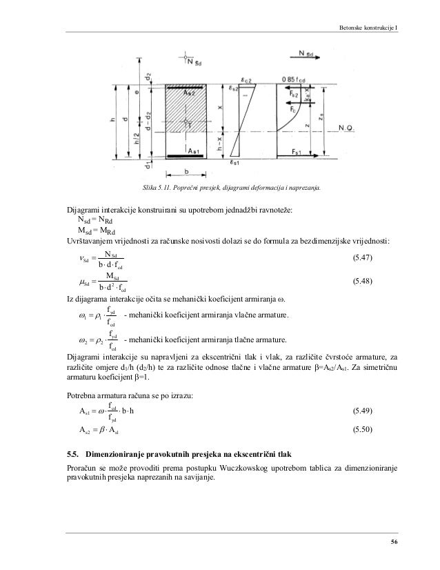 Predavanja beton