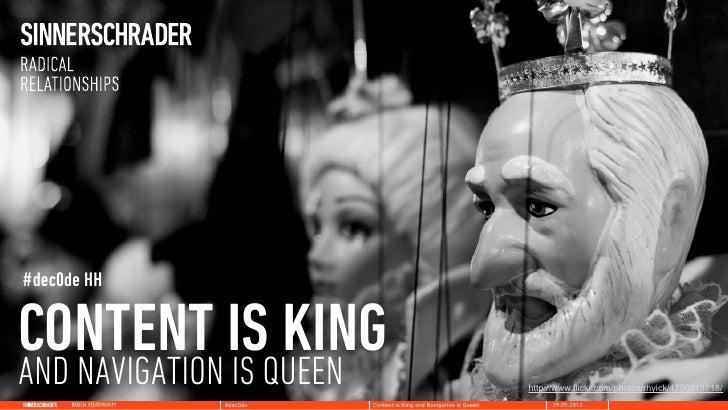 #dec0de HHCONTENT ISQUEEN   KINGAND NAVIGATION IS                                                http://www.flickr.com/pho...