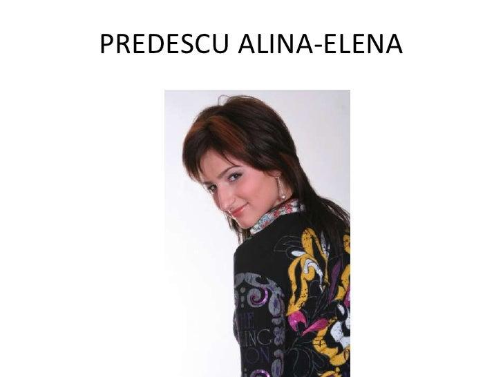 PREDESCU ALINA-ELENA            CV
