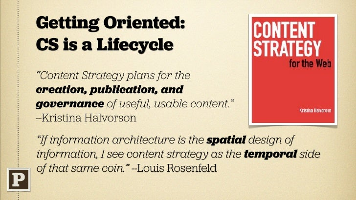 Old Testament  ‣   The web is a publishing medium.  ‣   Content is integral (to experience).  ‣   Content producers = de f...