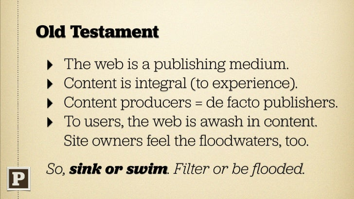 New Testament   ‣   Why? Because     publishing is hard.                 Credit: Jessica Hagy        Consider the masthead...