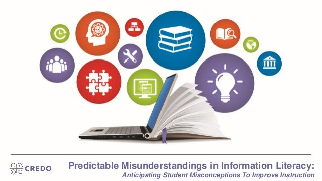 Predictable Misunderstandings in Information Literacy: Anticipating Student Misconceptions To Improve Instruction