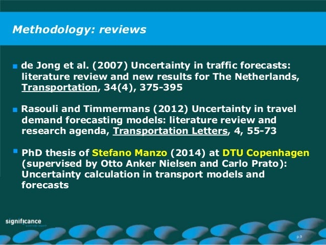 Demand forecasting production thesis