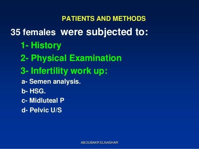 Pregnancy outcome prediction study