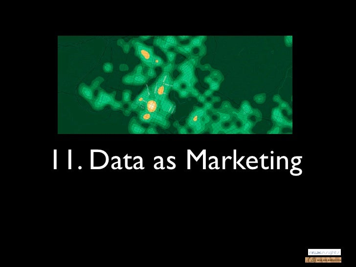 11. Data as Marketing