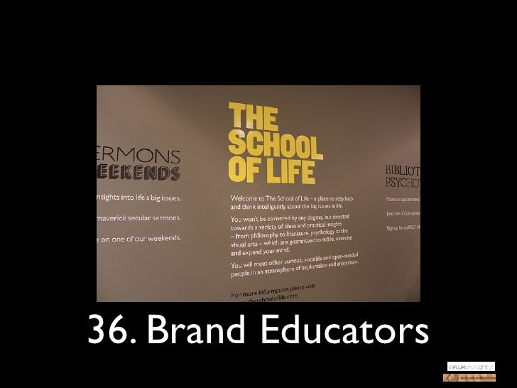 36. Brand Educators
