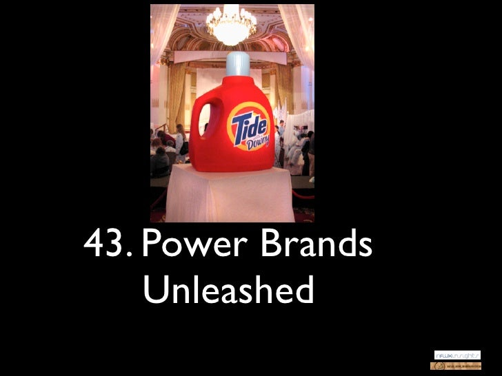 43. Power Brands    Unleashed