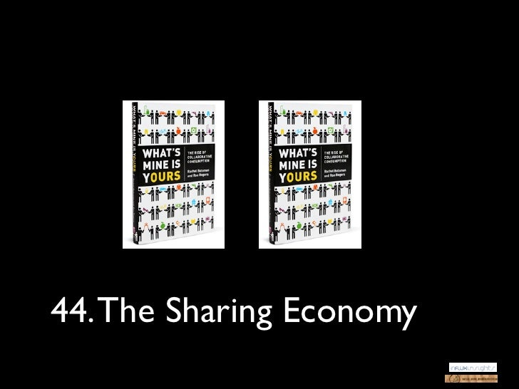 44. The Sharing Economy
