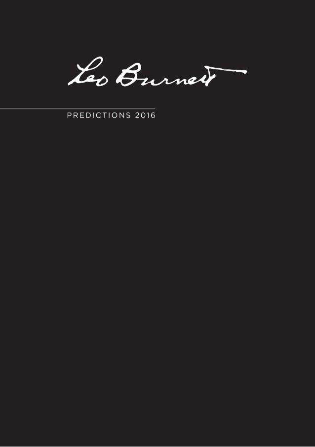 éuM. .uT*  PREDICTIONS 2016