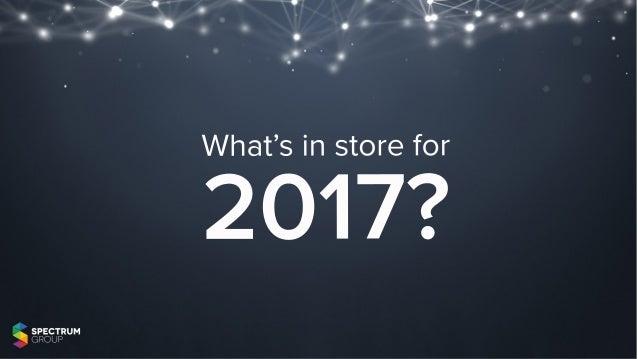 What'sinstorefor 2017?