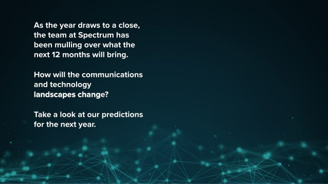 What's In Store For 2017? Here Are Eight Predictions Slide 2