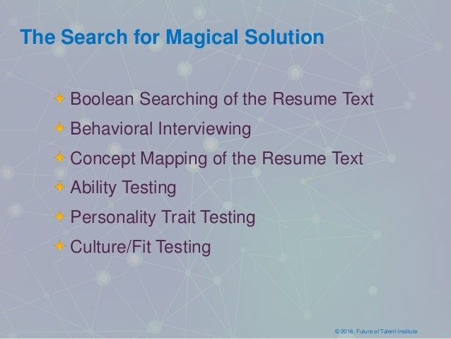 Predictive Analytics and Quality of Hire