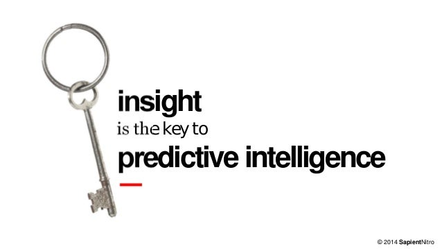 Predictive Intelligence