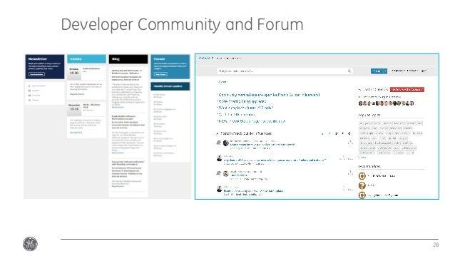 Developer Community and Forum 28