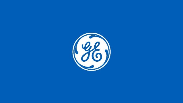 General Electric reserves the right to make changes in specifications and features, or discontinue the product or service ...