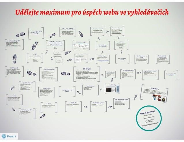 Udělejte maximum pro úspěch webu ve vyhledávačích Slide 2