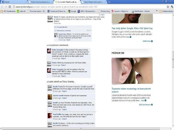 Vtipné příklady profilů