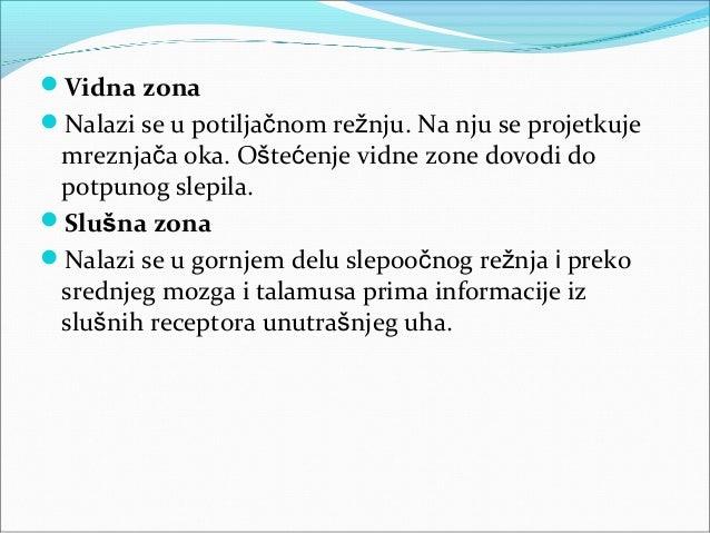 Govor Zona koja je ključna za govor nalazi se u čeonom  režnju leve hemisfere i naziva se Brokina govorna zona. Oštećenje...