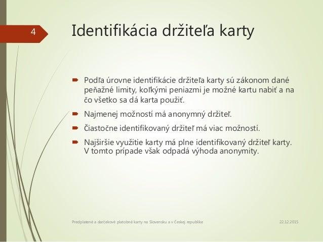 Predplaten a darekov platobn karty na Slovensku a v eskej