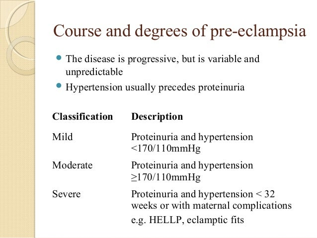 severe pre eclampsia and eclampsia in pregnancy Severe pre-eclampsia and eclampsia scenario  medications: prenatal  vitamins  emergent therapy for onset, severe hypertension with pre-eclampsia  or.