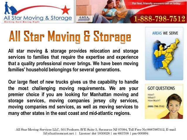 All star moving & storage provides relocation and storageservices to families that require the expertise and experiencetha...
