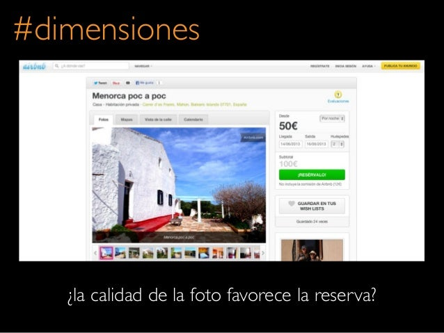 ¿la calidad de la foto favorece la reserva?#dimensiones