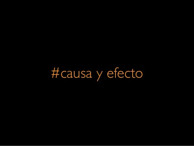 #causa y efecto
