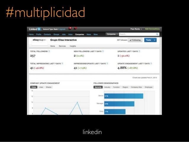 #multiplicidadlinkedin