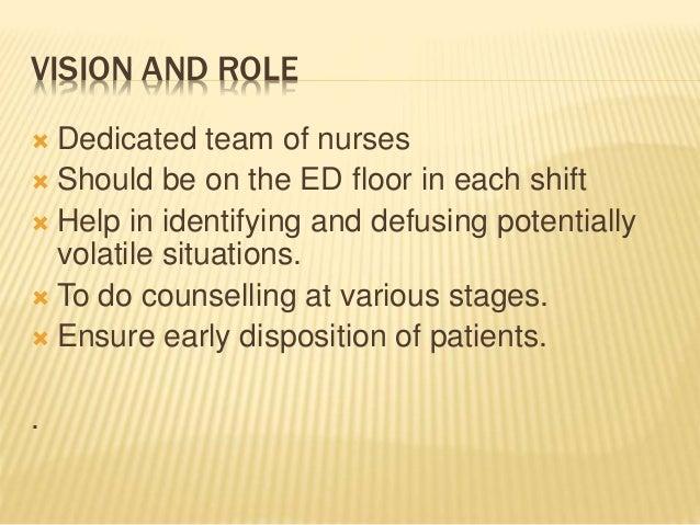 Emergency Nurse Coordinator (ENC)- Building Block of Critical Communication Slide 3