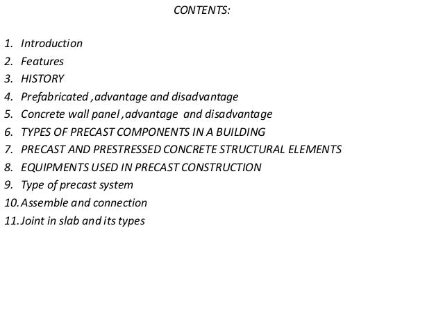 advantages and disadvantages of prefabricated buildings