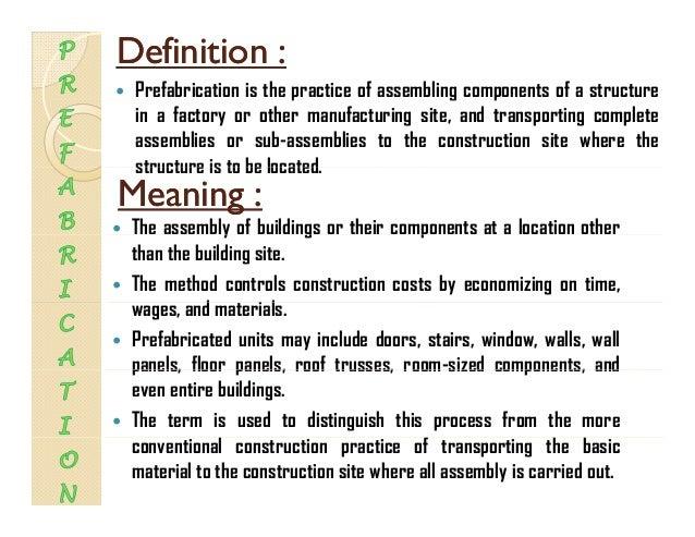 Prefabrication Slide 2