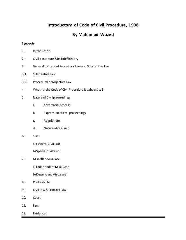 criminal procedure code india notes