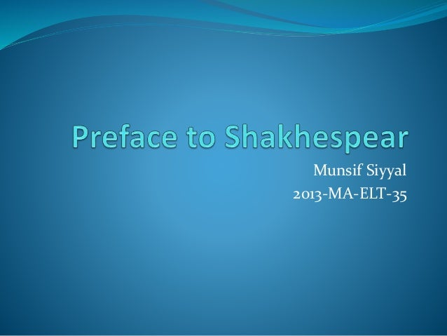 Munsif Siyyal 2013-MA-ELT-35