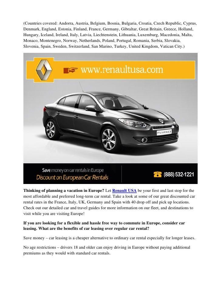 db3904ca1d Preferred Car Rental in Europe Get Discount on European Car Rentals
