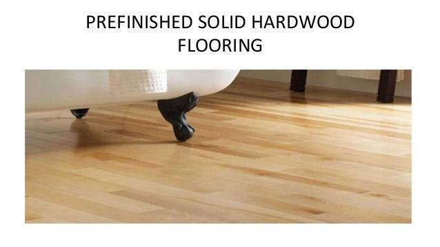 Prefinished Solid Hardwood Flooring Dubai