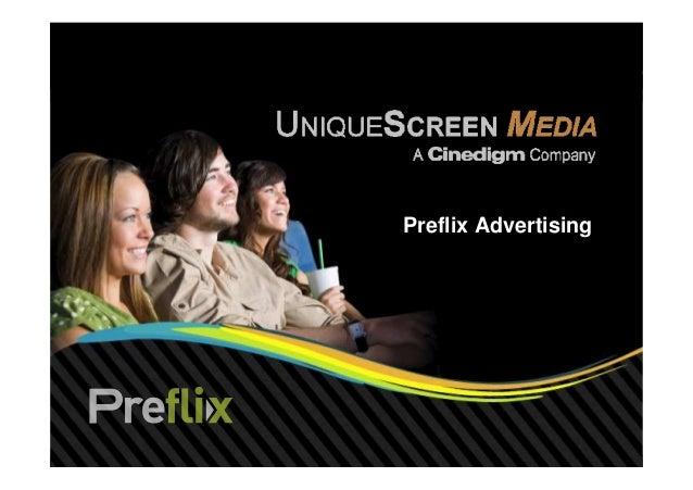 Preflix Advertising