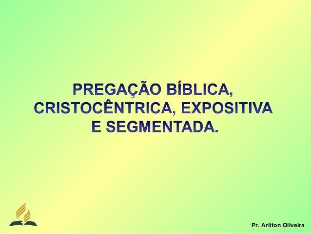 Pr. Arilton Oliveira